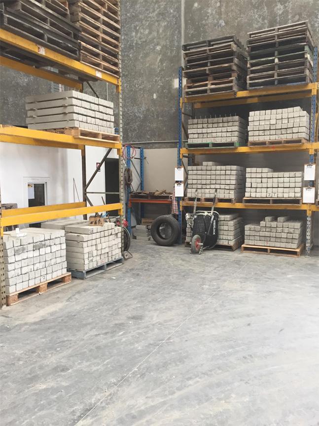 Concrete Stumps for Construction